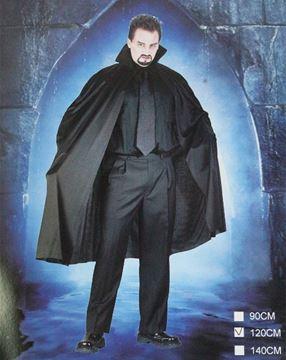 Imagen de Disfraz De Hallowen Capa De Dracula Para Niños 1,2mtrs