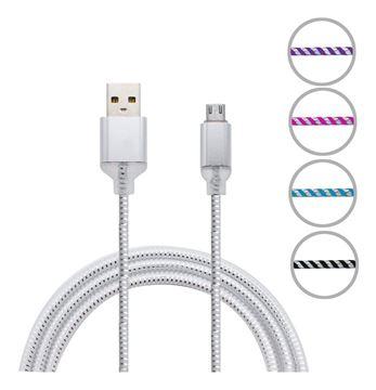 Imagen de Cable Usb De Metal  Con Luz  Para iPhone 1m