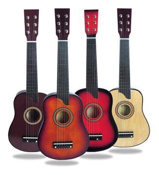 Imagen de Guitarra Madera  Infantil 25 Pulgadas En Caja-4 Colores