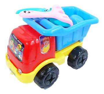 Imagen de Camion Volcadora Con Accesorios Niños Juguetes