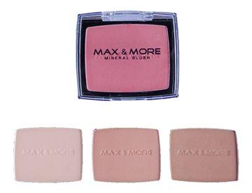 Imagen de Rubor En Polvo  Max&more 4 Tonos 4  Maquillaje