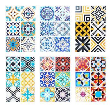 Imagen de Azulejos Autoadhesivo Con Mandala Para Decoración
