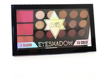 Imagen de Paleta De Rubor Y Sombras Ushas Maquillaje Ojos
