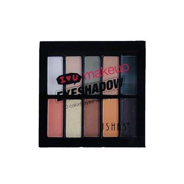 Imagen de Paleta de sombra para ojos 10 tonos Ushas 2 modelos 20gr