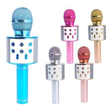 Imagen de Micrófono Karaoke USB, Bluetooth y auxiliar 5 colores