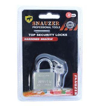 Imagen de Candado Metal 30mm 3 Llaves Seguridad