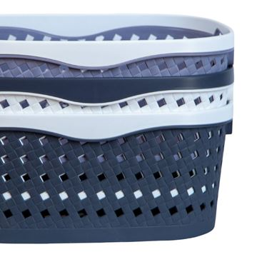 Imagen de Caja cesto canasto organizador 38*28*24 cm