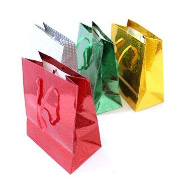 Imagen de Bolsa de regalo brillosa 14.5x11.5cm