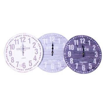 Imagen de Reloj Pred Madera 3 diseños-34cm