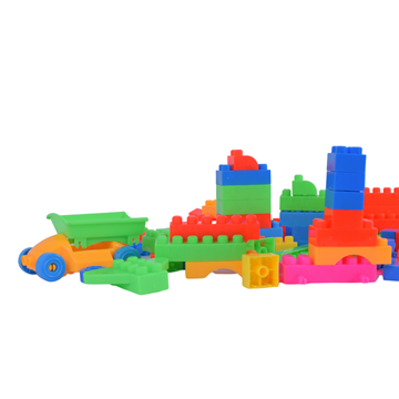 Imagen de Blocks para encastrar 116 unidades en cartera 25x21cm