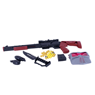 Imagen de Arma Rifle De Juguete Con Accesorios  28x70cm