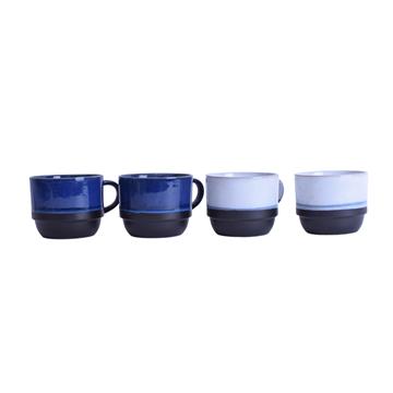 Imagen de Combo De 4  Tazas de Porcelana