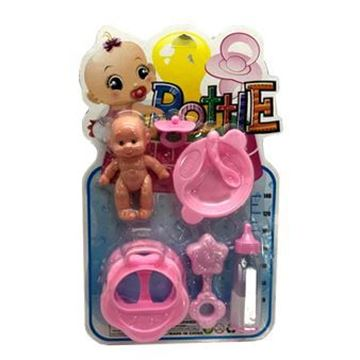 Imagen de Bebé con accesorios 21x35cm