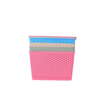 Imagen de Caja Cesto Organizador Con Tapa